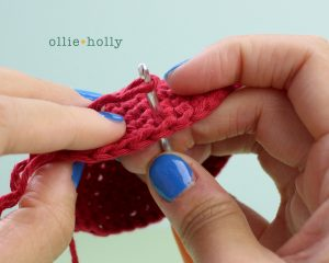 Free Disney Ariel Little Mermaid Amigurumi Crochet Pattern Step 17