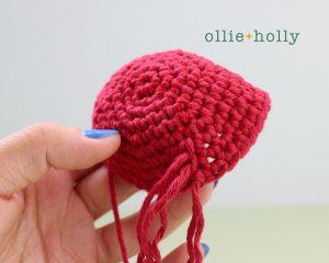 Free Ariel Little Mermaid Amigurumi Crochet Pattern Step 20