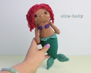 Free Ariel Little Mermaid Amigurumi Crochet Pattern