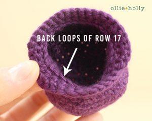 Free Halloween Witch's Cauldron Ornament Amigurumi Crochet Pattern Step 2