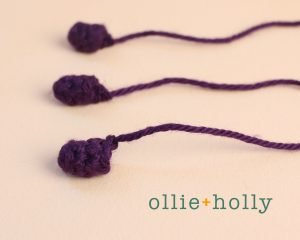 Free Halloween Witch's Cauldron Ornament Amigurumi Crochet Pattern Step 6