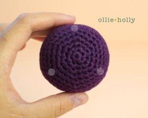 Free Halloween Witch's Cauldron Ornament Amigurumi Crochet Pattern Step 8