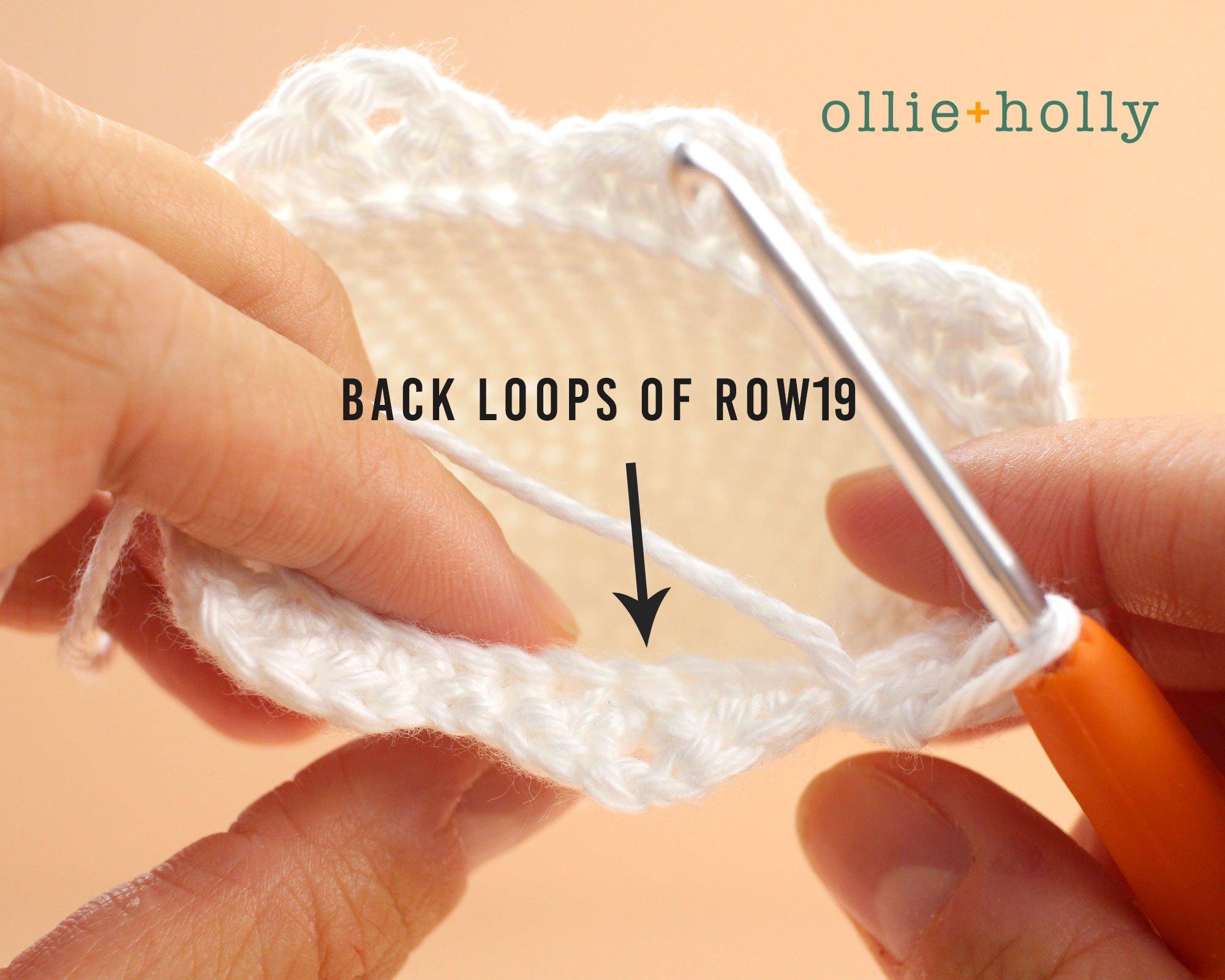 Free Halloween Ghost Amigurumi Ornament Crochet Pattern Step 2