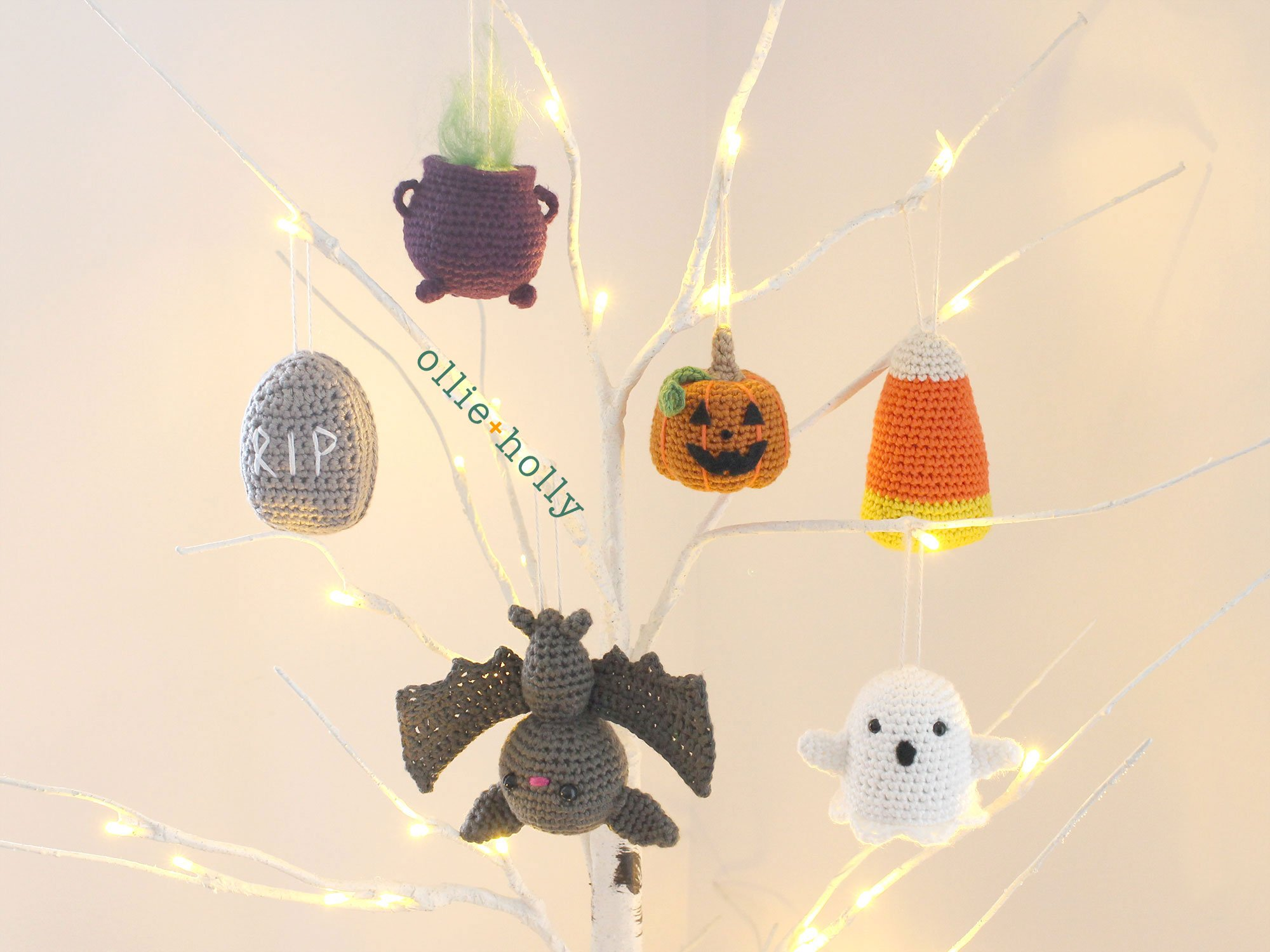 One or Both! You Choose Halloween Ornament Patterns
