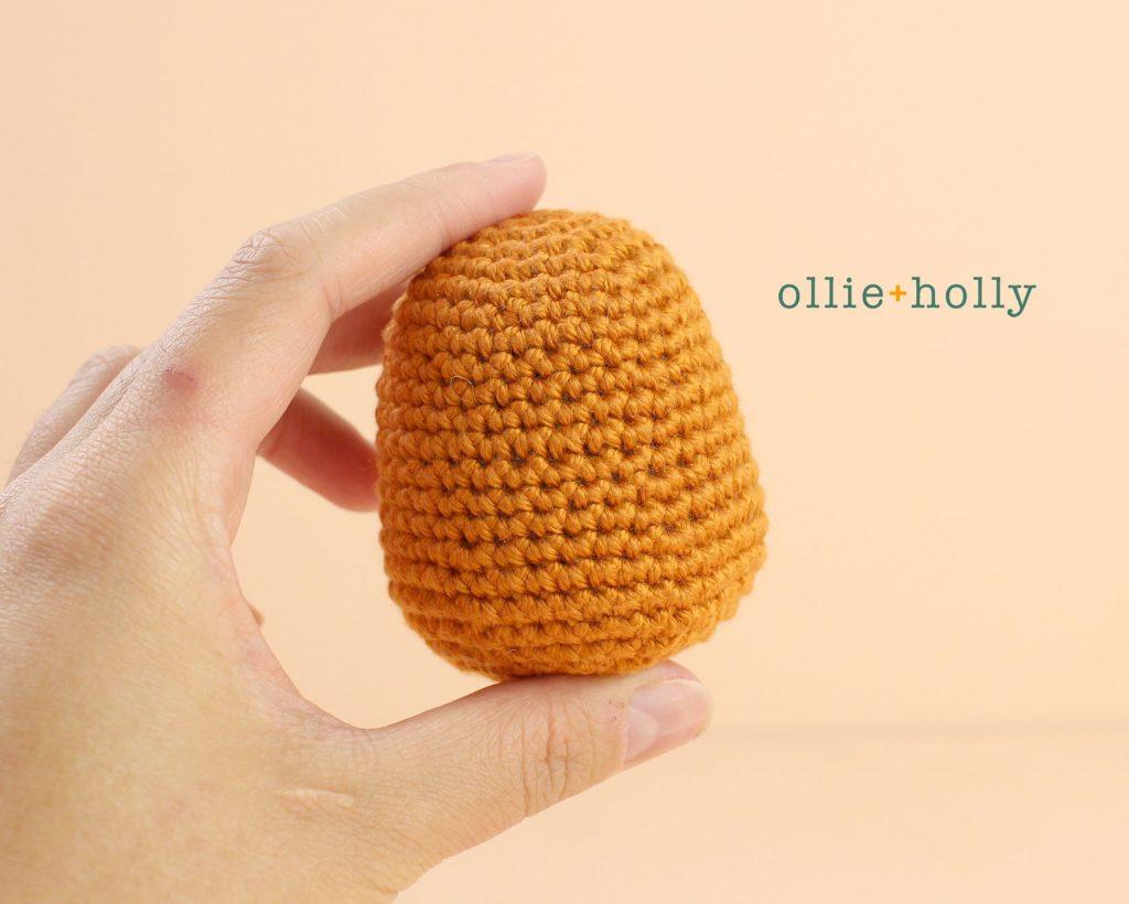Free Jack-o'-Lantern Pumpkin Ornament Amigurumi Crochet Pattern Step 1