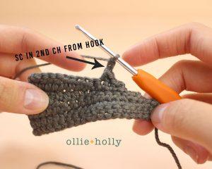Free Halloween Bat Ornament Amigurumi Crochet Pattern Step 6