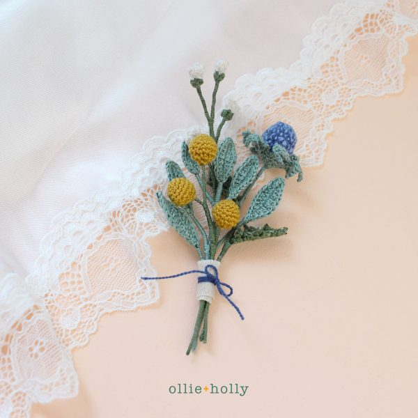Tiny Floral Bouquet Crochet (Pattern Collection)