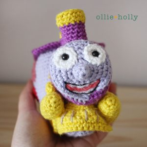 I Choo Choo Choose You Amigurumi Crochet (Pattern Only)