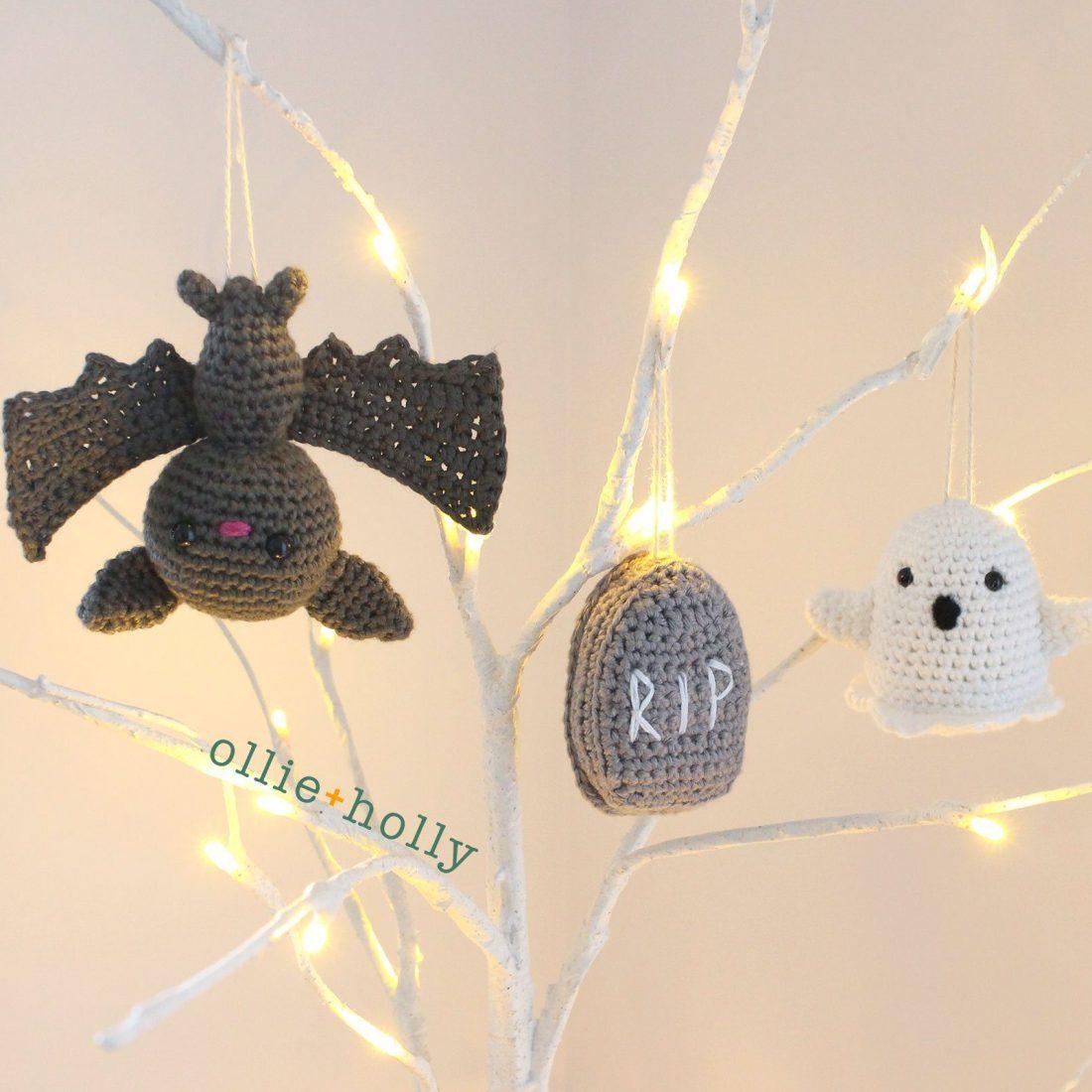 Graveyard Amigurumi Crochet Ornaments (Pattern Collection)