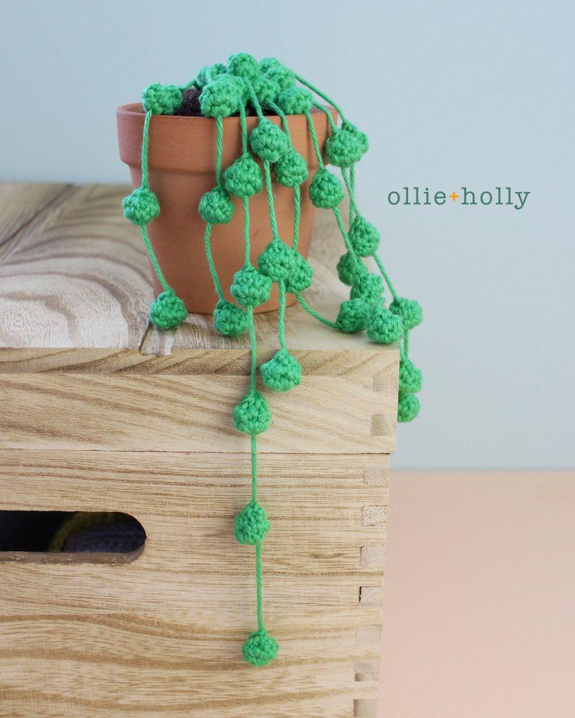 String of Pearls Succulent Amigurumi Crochet Pattern
