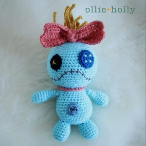 Scrump from Lilo & Stitch Amigurumi Crochet (Pattern Only)