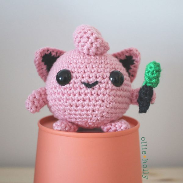 Jigglypuff Pokemon Amigurumi Crochet (Pattern Only)