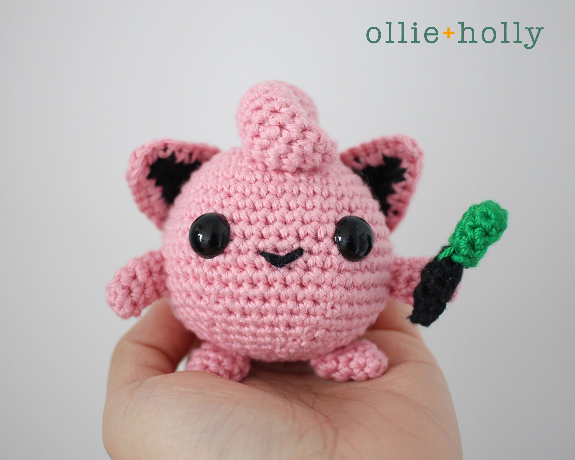 DIY Amigurumi Pikachu Crocheted amigurumi Pokémon – Amigurumi Patterns | 1600x2000