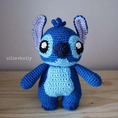 Stitch from Lilo & Stitch Amigurumi Crochet (Pattern Only)