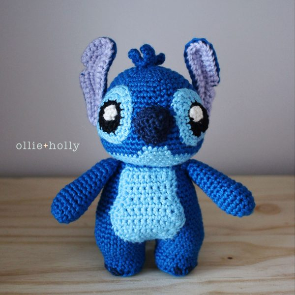 Stitch from Lilo & Stitch Amigurumi Crochet (Pattern Only)