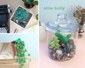 Crochet Amigurumi Succulents Pattern Collection