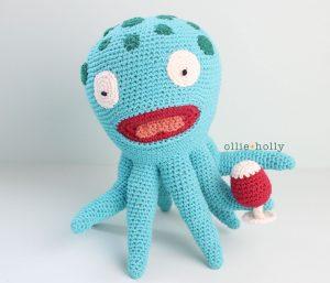 Akkoro Kamui Bob's Burger Amigurumi Crochet Pattern