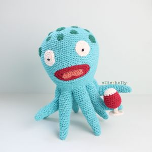 Akkoro Kamui from Bob's Burgers Amigurumi Crochet Pattern