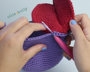 Free Bob's Burgers Louise Belcher Stuffed Animal Dodomeki Amigurumi Crochet Pattern Step 8