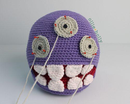 Free Bob's Burgers Louise Belcher Stuffed Animal Dodomeki Amigurumi Crochet Pattern Step 19