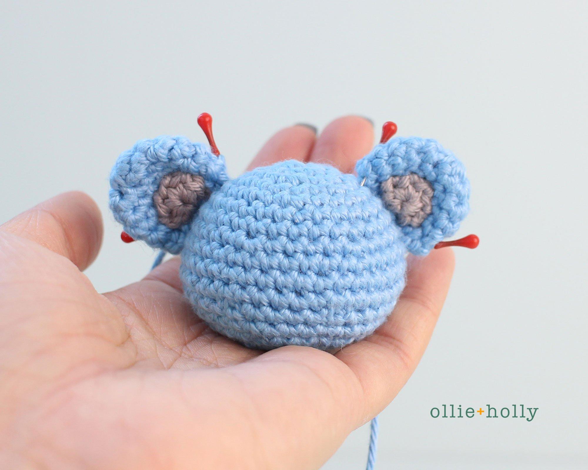 Free BT21 Koya Christmas Ornament Amigurumi Crochet Pattern Step 6