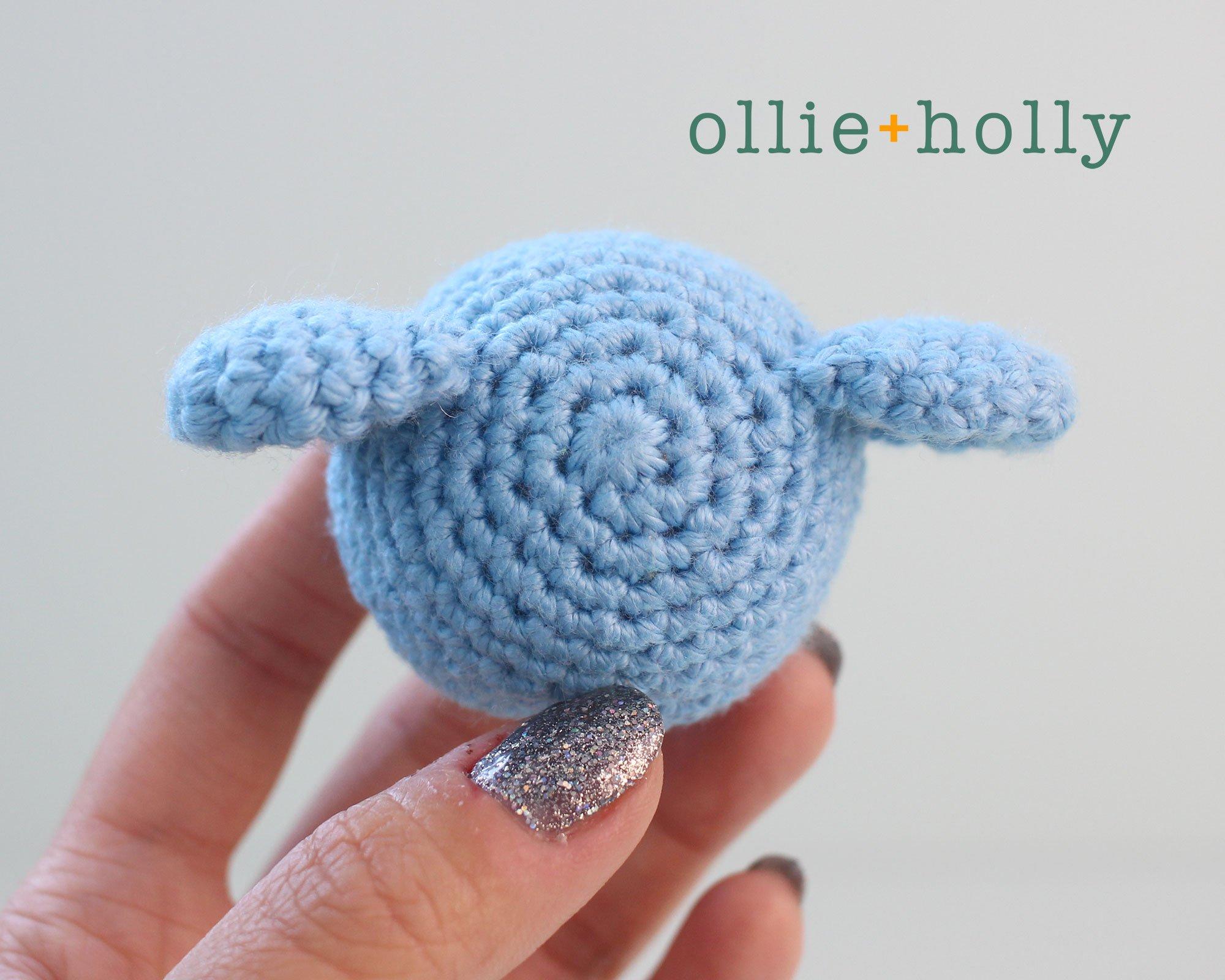 Free BT21 Koya Christmas Ornament Amigurumi Crochet Pattern Step 7