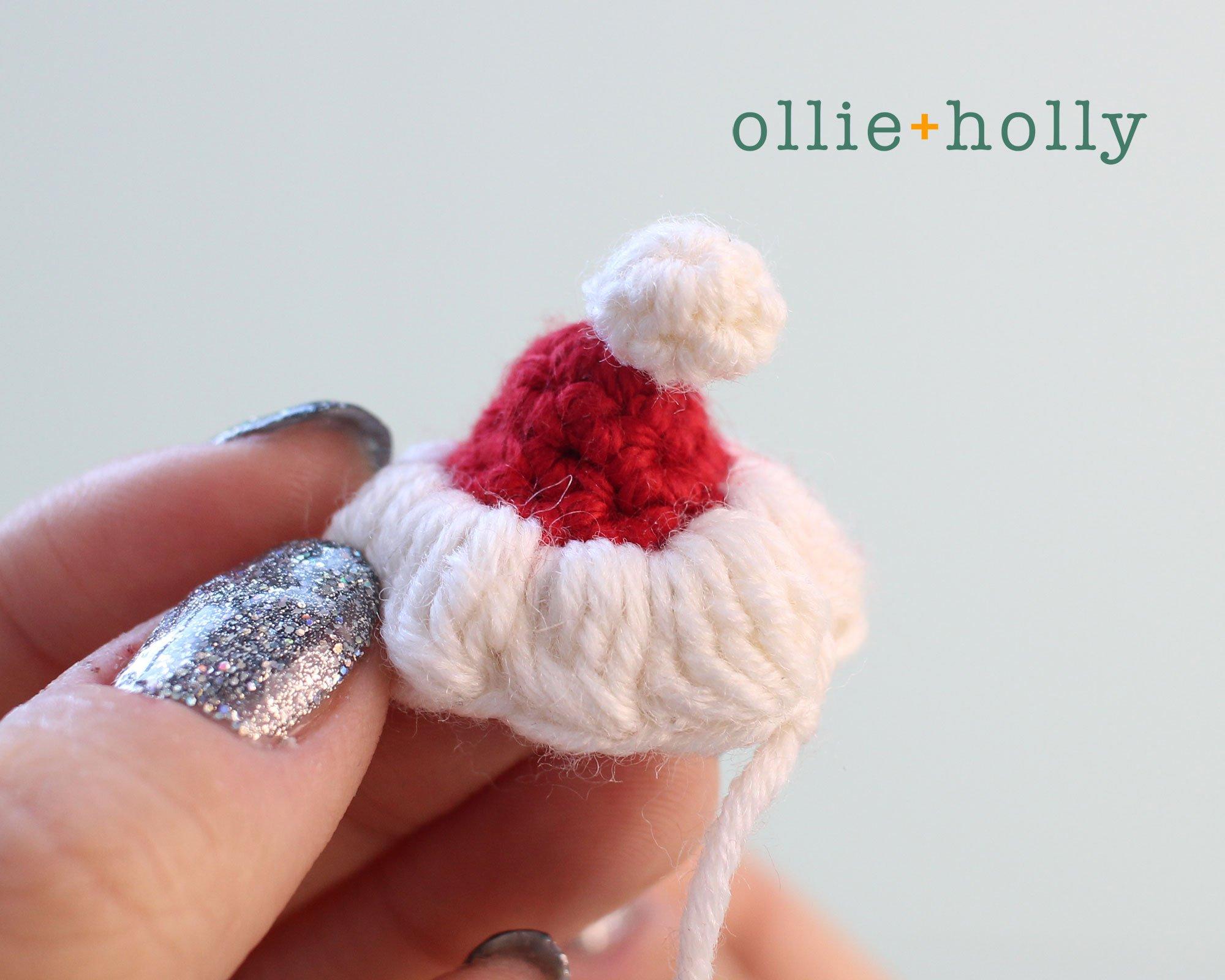 Free BT21 Koya Christmas Ornament Amigurumi Crochet Pattern Step 10