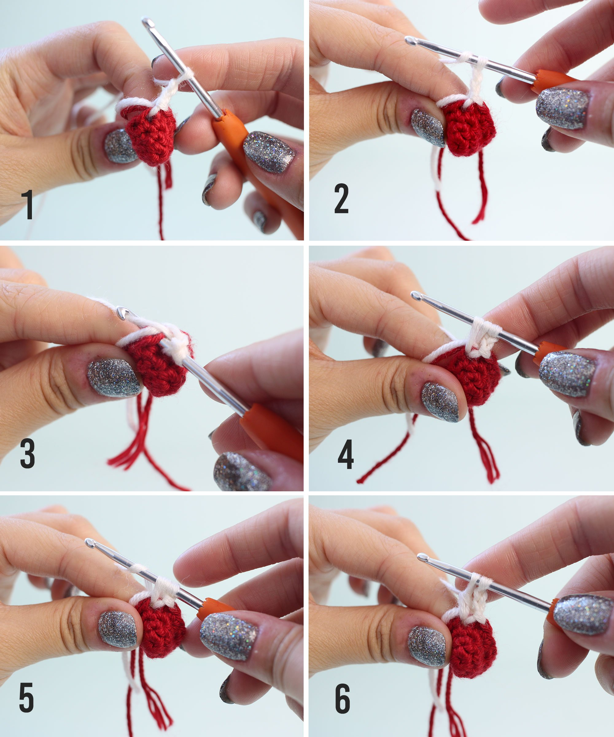 5dc bobble crochet step by step instructions