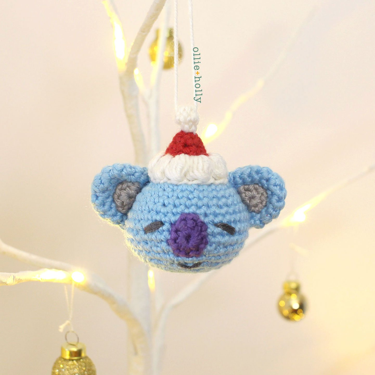 BT21 Koya Amigurumi Crochet Ornament (Pattern Only)