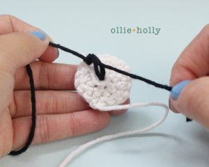 Free Bob's Burgers Amigurumi Crochet Pattern Louise Belcher Stuffed Toy Animal Mizuchi Step 7b