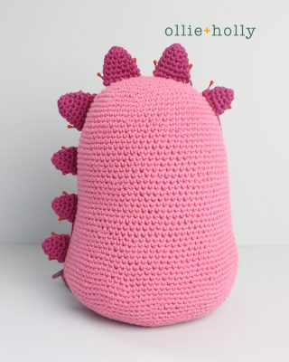 Free Bob's Burgers Louise Belcher Stuffed Toy Animal Mizuchi Amigurumi Crochet Pattern Step 9