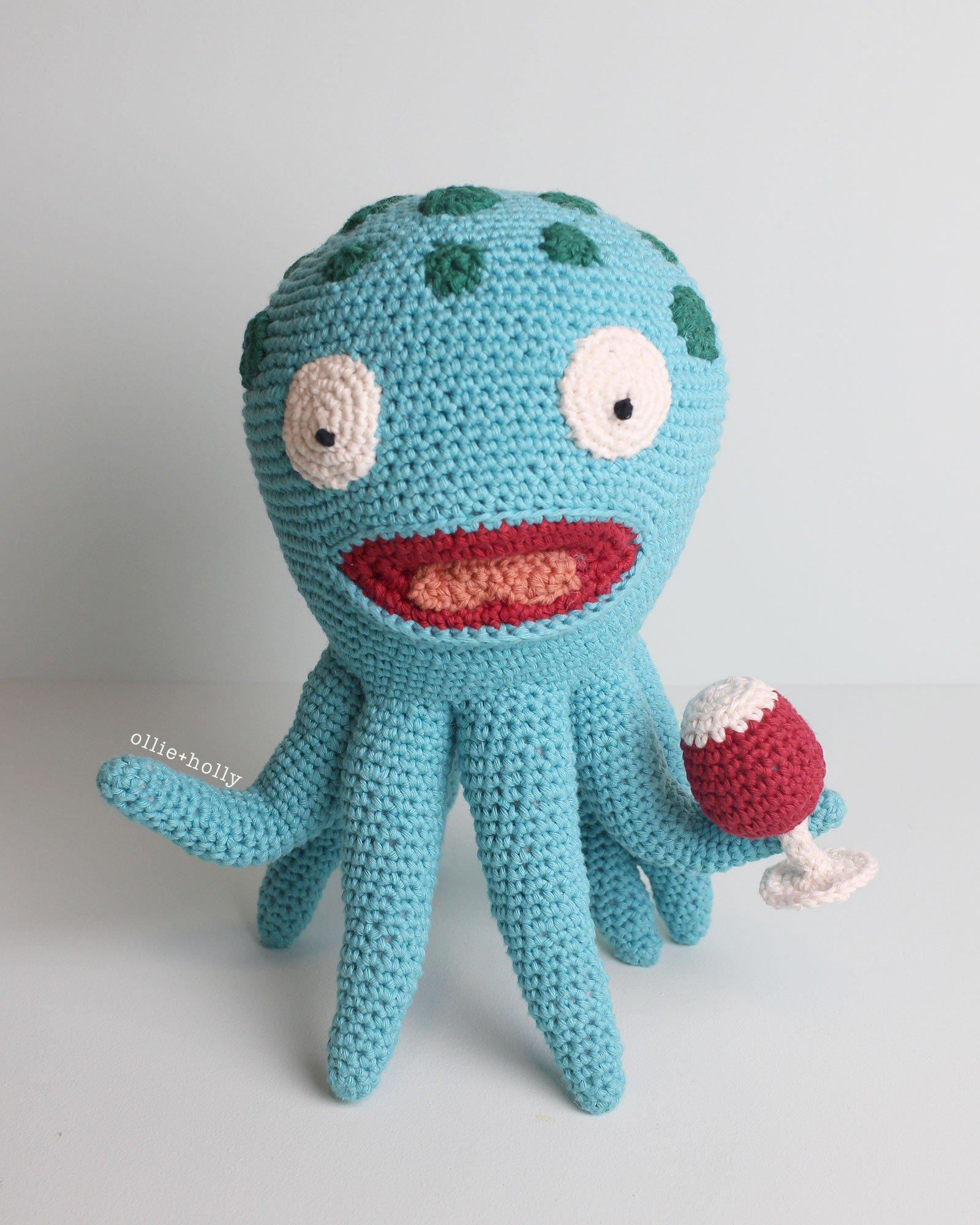 Akkoro Kamui from Bob's Burgers Amigurumi Crochet Stuffed Toy Animal (Pattern Only)