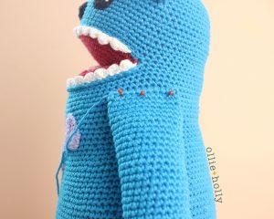 Louise Belcher's Stuffed Animal Bakeneko (Bob's Burgers) Amigurumi Crochet Pattern WIP Arms