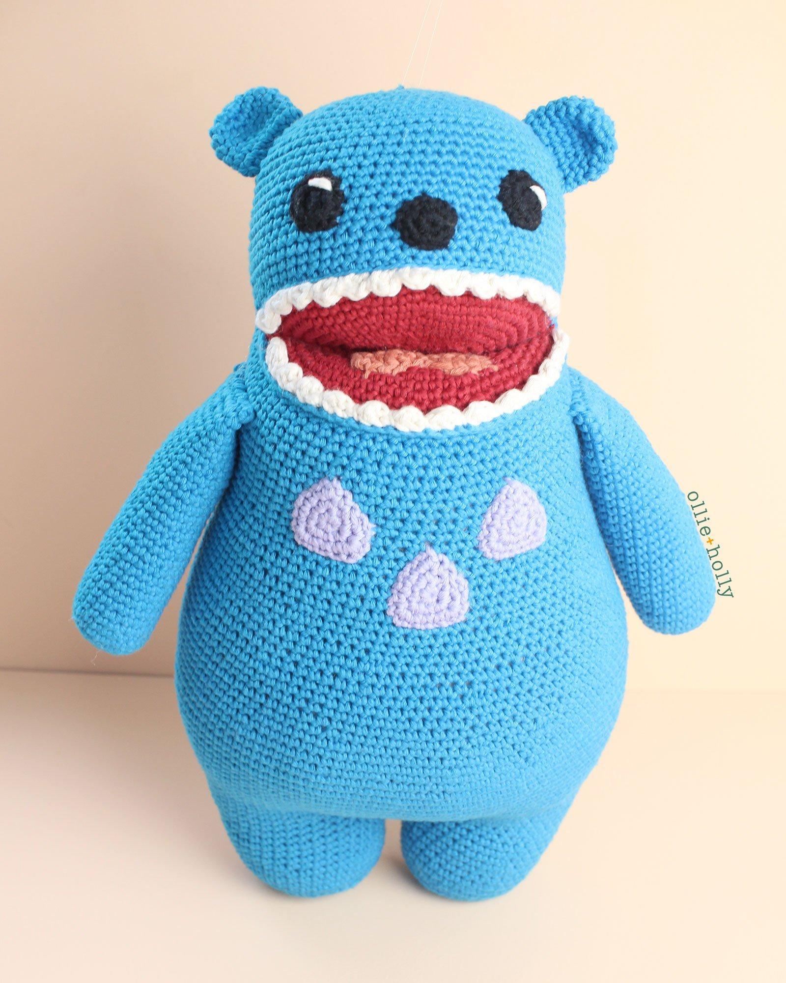 Bakeneko from Bob's Burgers Amigurumi Crochet Stuffed Toy Animal (Pattern Only)