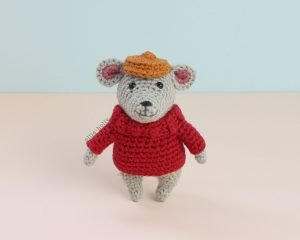 The Rescuers Bernard Mouse Free Amigurumi Crochet Pattern Complete