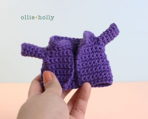 The Rescuers Miss Bianca Mouse Free Amigurumi Crochet Pattern Coat Sleeves Finished