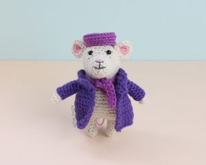 The Rescuers Miss Bianca Mouse Free Amigurumi Crochet Pattern Complete