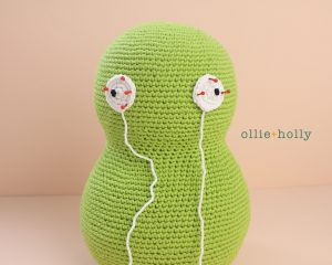 Free Louise Belcher's Stuffed Animal Kuchi Kopi (from Bob's Burgers) Amigurumi Crochet Pattern Step 7