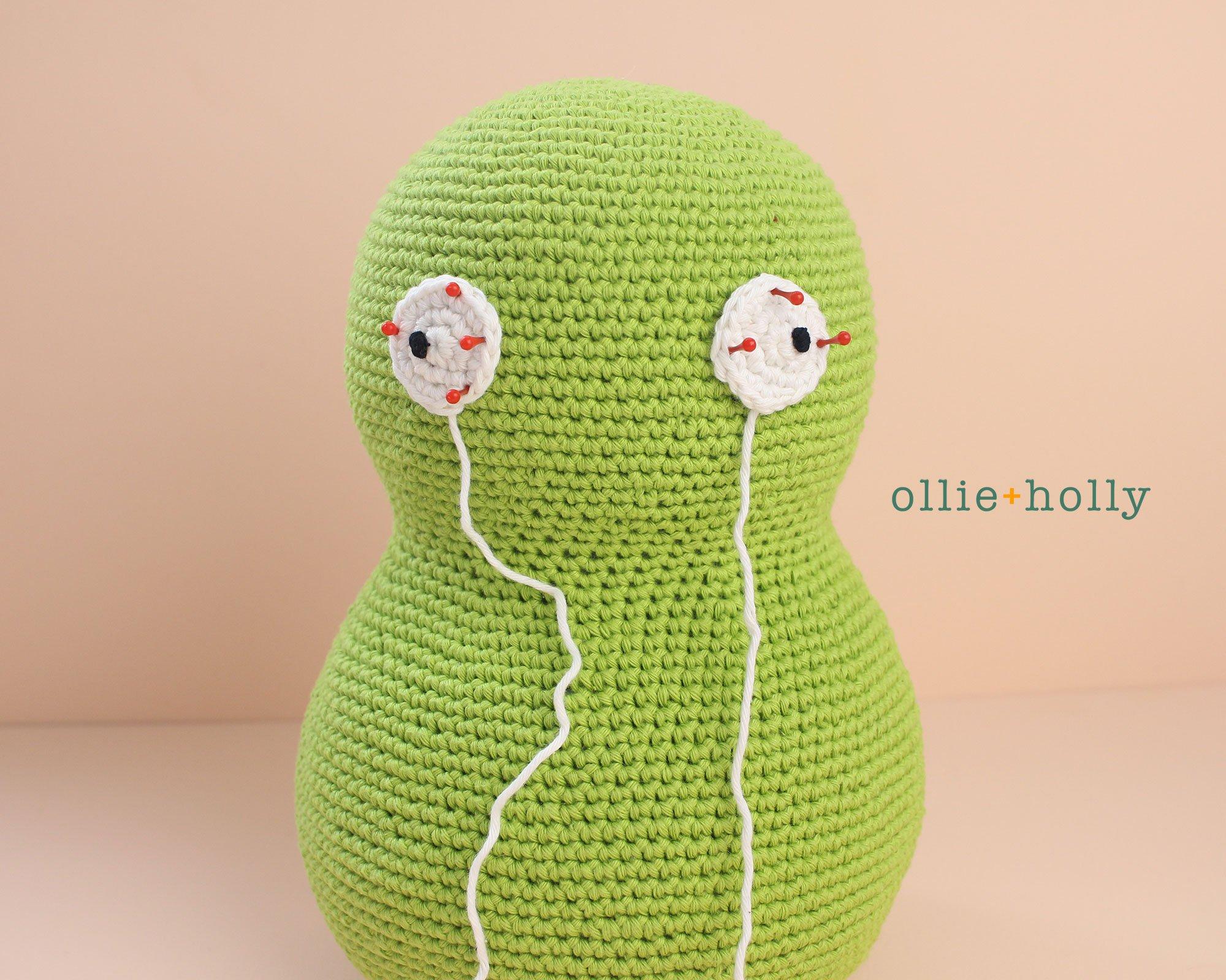 Free Louise Belcher's Stuffed Animal Kuchi Kopi (from Bob's Burgers) Amigurumi Crochet Pattern Step 7