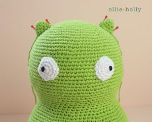 Free Louise Belcher's Stuffed Animal Kuchi Kopi (from Bob's Burgers) Amigurumi Crochet Pattern Step 8