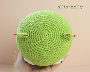 Free Louise Belcher's Stuffed Animal Kuchi Kopi (from Bob's Burgers) Amigurumi Crochet Pattern Step 9