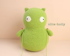 Free Louise Belcher's Stuffed Animal Kuchi Kopi (from Bob's Burgers) Amigurumi Crochet Pattern Step 10