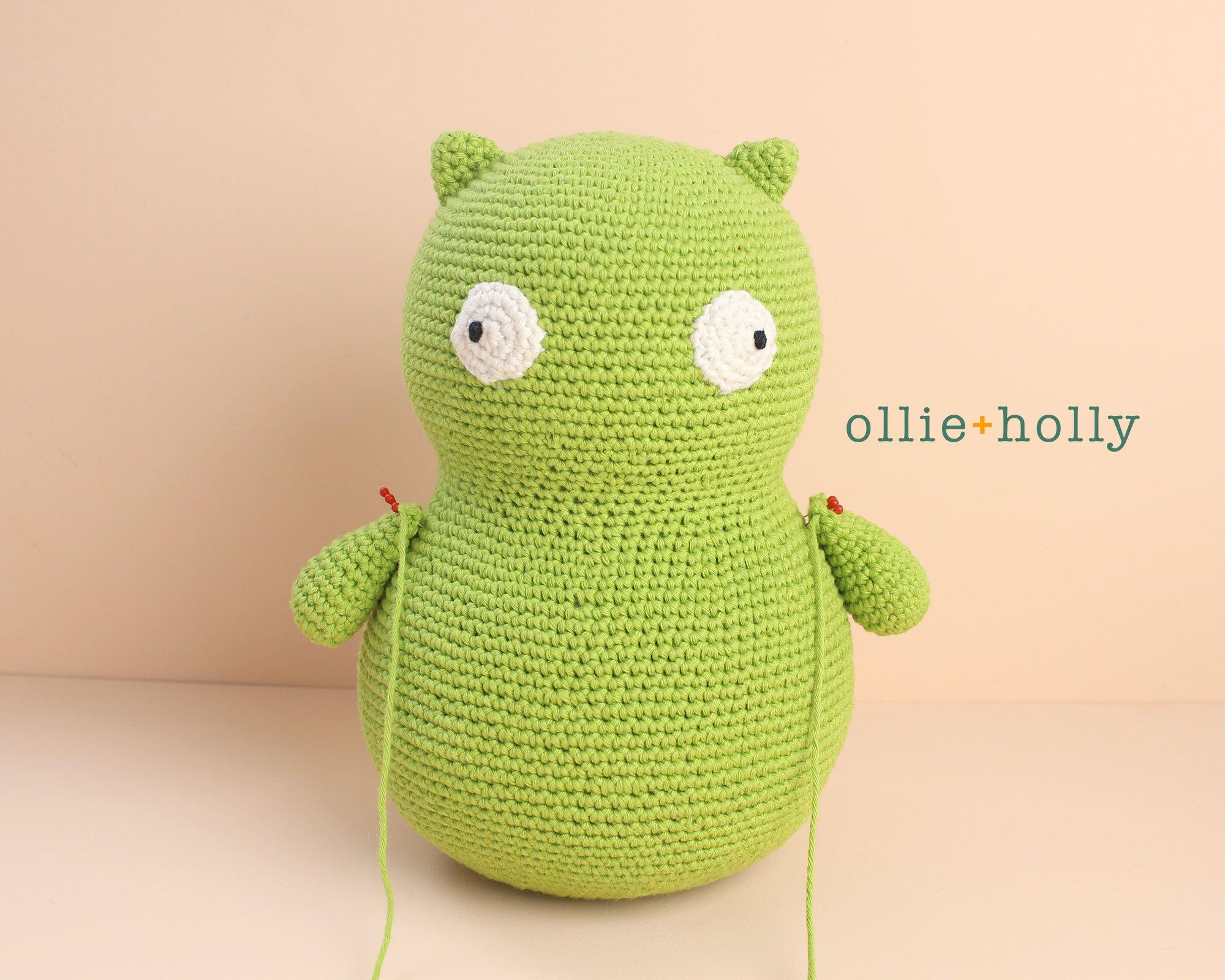 Free Louise Belcher's Stuffed Animal Kuchi Kopi (from Bob's Burgers) Amigurumi Crochet Pattern Step 10