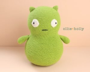 Free Louise Belcher's Stuffed Animal Kuchi Kopi (from Bob's Burgers) Amigurumi Crochet Pattern Step Finished
