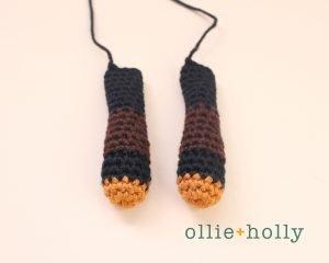 Free Mandalorian Din Djarin Amigurumi Crochet Pattern Arms