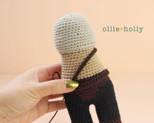 Free Mandalorian Din Djarin Amigurumi Crochet Pattern Belt Step 3