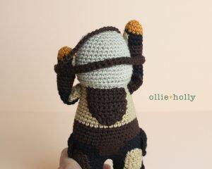 Free Mandalorian Din Djarin Amigurumi Crochet Pattern Assembly Step 8