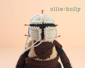 Free Mandalorian Din Djarin Amigurumi Crochet Pattern Assembly Step 10
