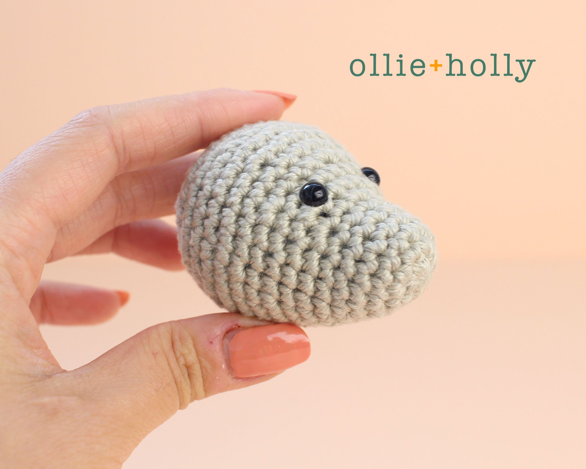 Free Chinese New Year Mouse Amigurumi Crochet Pattern Head