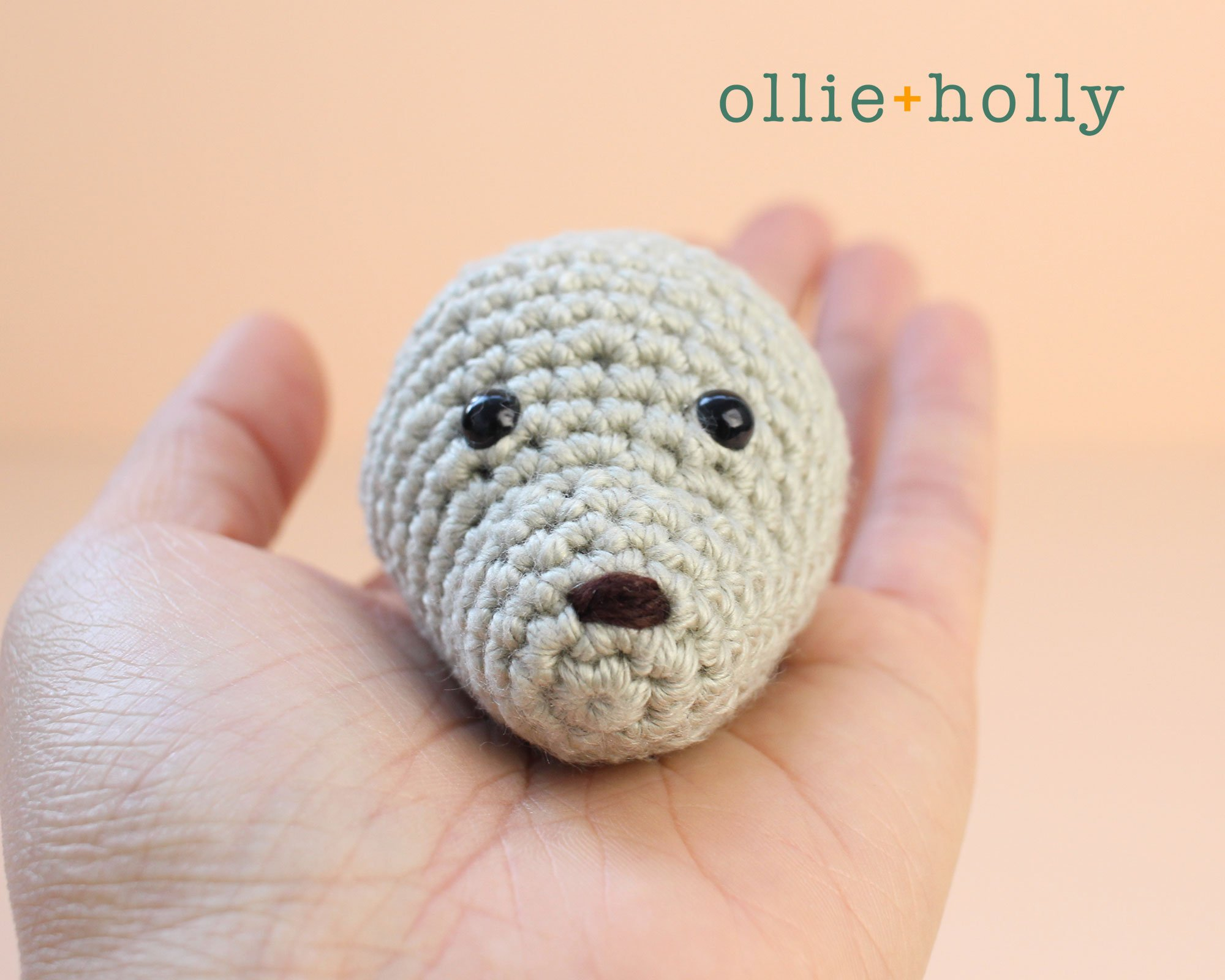 Free Chinese New Year Mouse Amigurumi Crochet Pattern Step 1